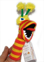 Finger Puppet - Pom Pom