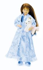 Princess Sleepwear Outfit  Blue