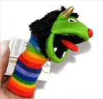Finger Puppet - Rainbow