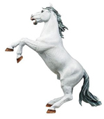 Papo Rearing White Horse