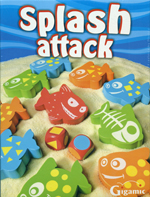 Splash Attack Wooden Game by Gigamatic