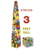 Alphabet Stacking Boxes