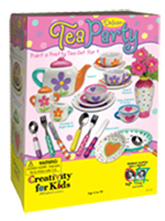 Deluxe Paint-Yor-Own Tea Party Set