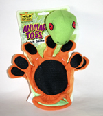 Animal Toss - Green Tree Frog ball play game