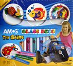 Amos Glass Deco Tin Badge Kit