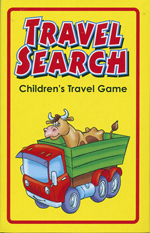 Travel Search Spotter Card Game