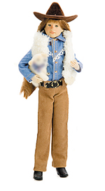 Western Riding Outfit - Brown