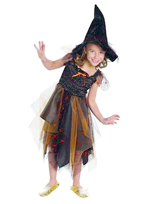 Witch Dress and Hat