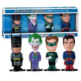 DC Comics Mini Wacky Wobblers 4 pack