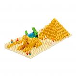 NANOBLOCK Great Pyramid of Giza - Construction Block Set NBH-033