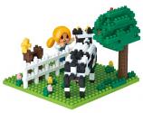 NEW NANOBLOCK Farm - Construction Block Set NBH-166