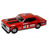 Aussie Road Ragers 1970 Ford Falcon XW GTHO Phase 2 63E Bruce McPhee Bathurst 1:64 Diecast Model Car