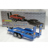 Tandem Trailer 1:24 scle Diecast