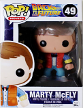 BACK TO THE FUTURE Marty McFly Pop! Vinyl Figure #49 Movie Vinyl - Funko 3400