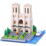 NANOBLOCK Cathedral Notre-Dame de Paris France - Construction Block Set NBH-093 nanoblocks