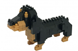 NANOBLOCK Dachshund Dog - Construction Block Set NBC-260